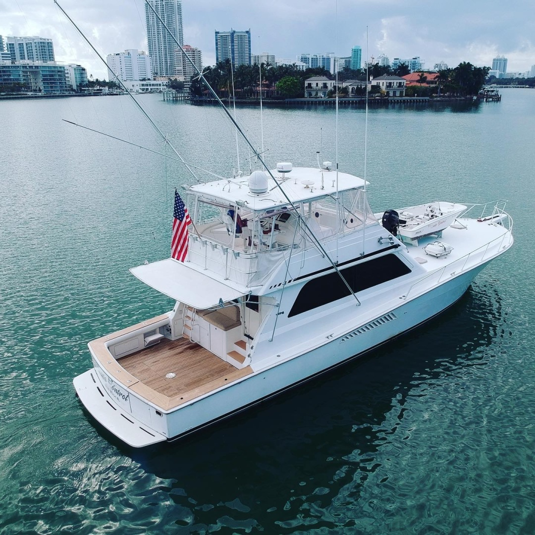 Picture Of: 58' Viking 58 Convertible 1997 Yacht For Sale   1 of 102