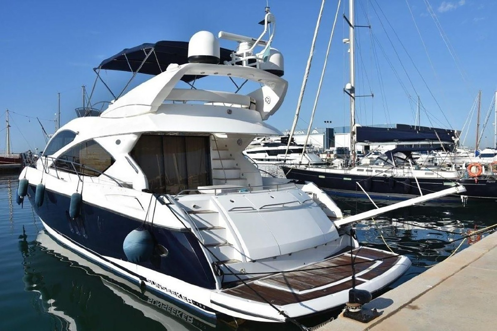 is a Sunseeker 60 Yacht For Sale in CANCUN-2006 SUNSEEKER 60 FOR SALE IN CANCUN -0