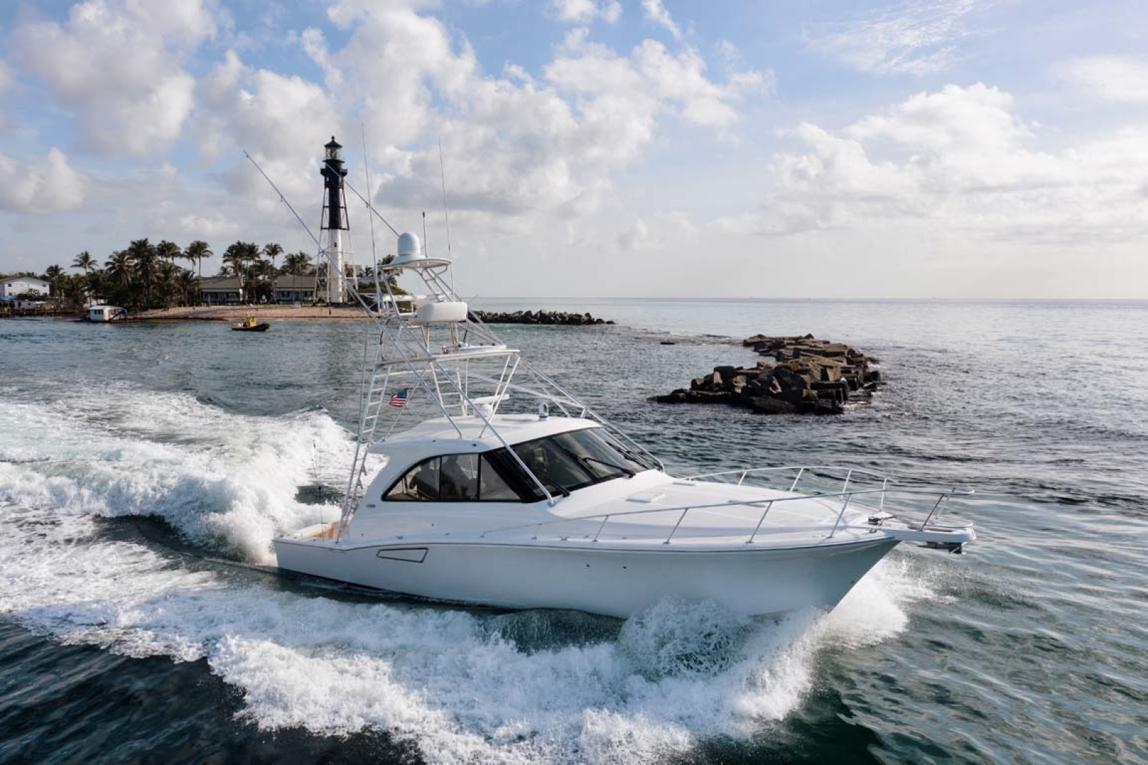 Cool Daddio is a Cabo 44 HTX Yacht For Sale in Hyannis-Main Profile - Running-0