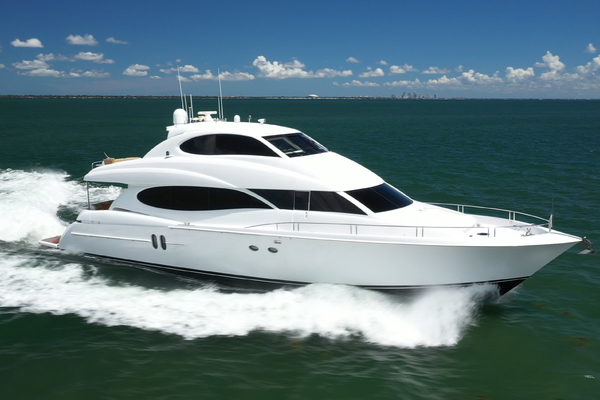 Picture Of: 80' Lazzara 80 Skylounge 2006 Yacht For Sale   3 of 54