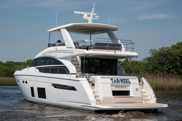 Picture Of: 69' Princess 68 Flybridge Motor Yacht 2018 Yacht For Sale | 2 of 92