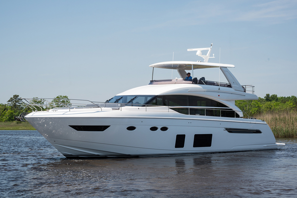 Picture Of: 69' Princess 68 Flybridge Motor Yacht 2018 Yacht For Sale | 1 of 92