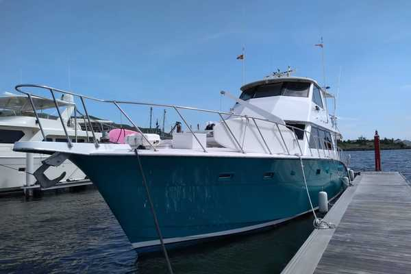 2019Hatteras 60 ft Sport Fishman   Joker