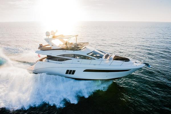 Picture Of: 59' Sea Ray L590 Fly 2016 Yacht For Sale | 1 of 45