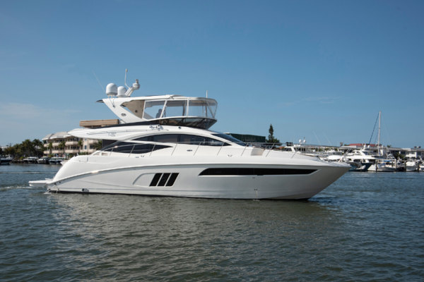 Picture Of: 59' Sea Ray 590 Flybridge 2016 Yacht For Sale | 1 of 39