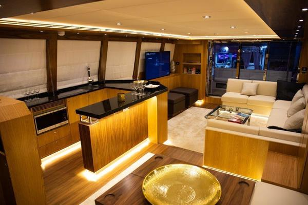 Picture Of: 69' Riviera Hull #1 2019 Yacht For Sale | 4 of 22