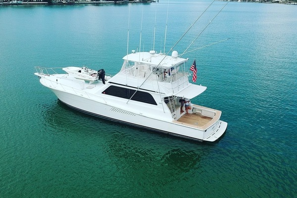 Picture Of: 58' Viking 58 Convertible 1997 Yacht For Sale   2 of 102