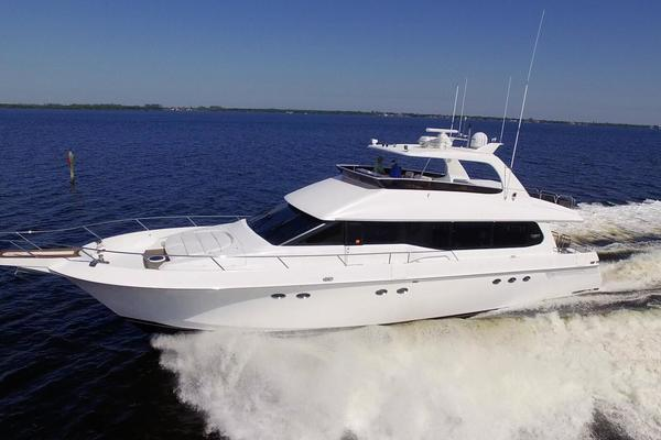 76-ft-Lazzara-1995-76 GRAND SALON-Christmas Spirit Fort Myers Florida United States  yacht for sale