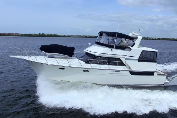 48-ft-Californian-1990-48 Cockpit Motor Yacht-Classy Lady Palmetto Florida United States  yacht for sale