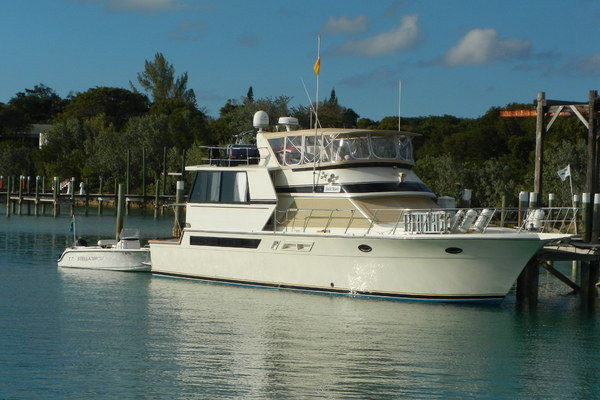 55-ft-Californian-1989-Cockpit Motor Yacht-Stella Maris Palm Beach Florida United States  yacht for sale