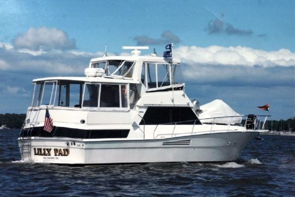 44-ft-Viking-1989-44 Aft Cabin Motoryacht-Lilly Pad Baltimore Maryland United States  yacht for sale