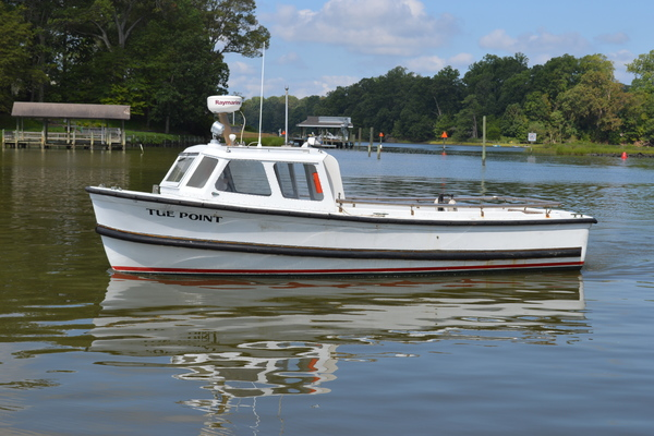 26-ft-Custom-1958-26' Utility Launch MK-2-Tue Point Yorktown Virginia United States  yacht for sale