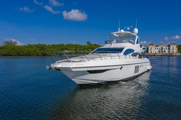 64-ft-Azimut-2016-64 Flybridge-Pampa II Coconut Grove Florida United States  yacht for sale