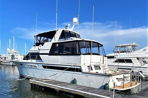 55-ft-Californian-1990-Cockpit Motoryacht-Plenty of Chips Hampton Virginia United States  yacht for sale