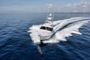 Cool Daddio is a Cabo 44 HTX Yacht For Sale in Hyannis-Bow Running-13