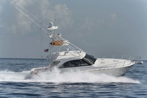 Cool Daddio is a Cabo 44 HTX Yacht For Sale in Hyannis-Running-42